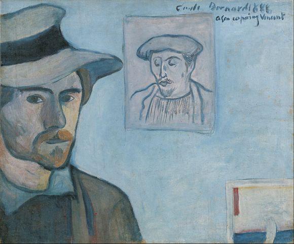 bernard self portrait