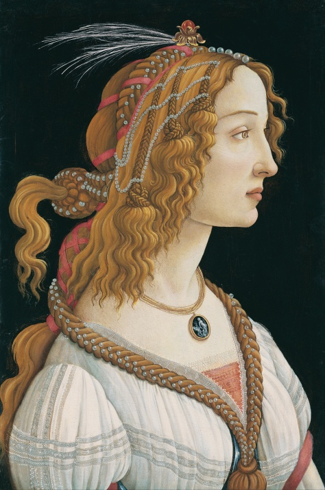 botticelli hair