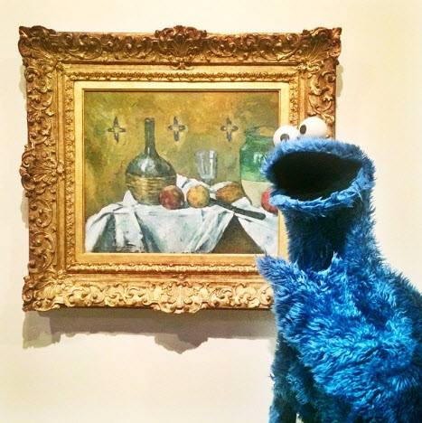 cookie monster cezanne