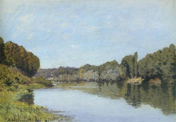 AlfredSisley_Seine