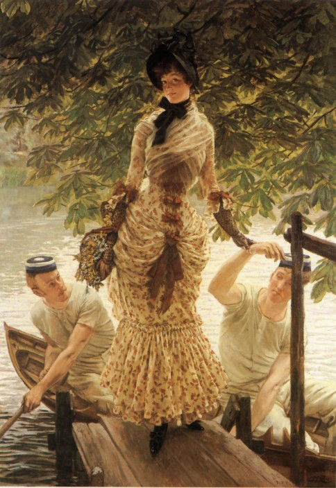 James_Tissot_-_On_the_Thames