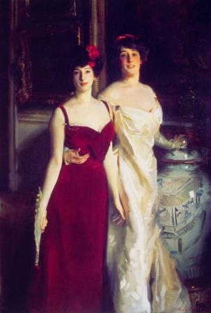 John Singer Sargent - Ena And Betty Daughters of Asher And Mrs Wertheimer_t1