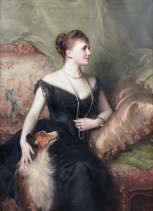 Mrs_Mary_Venetia_James,_née_Cavendish-Bentinck,_by_Samuel_Luke_Fildes.jpg